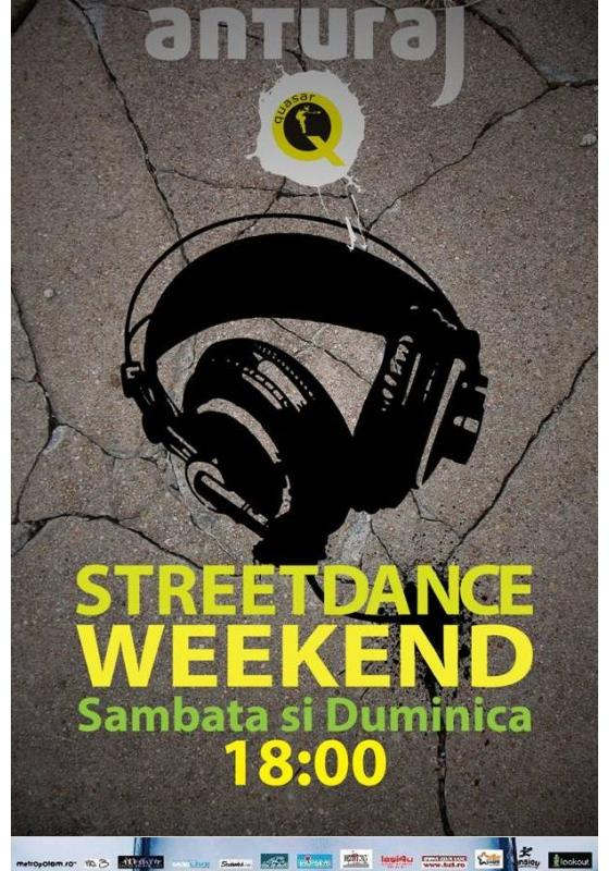 Street Dance Weekend pe 22 si 23 septembrie/ Anturaj, Iasi
