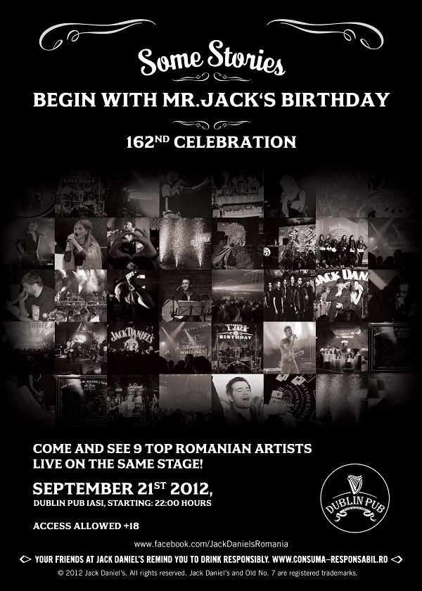Mr. Jack`s Birthday/ Dublin Pub, Iasi