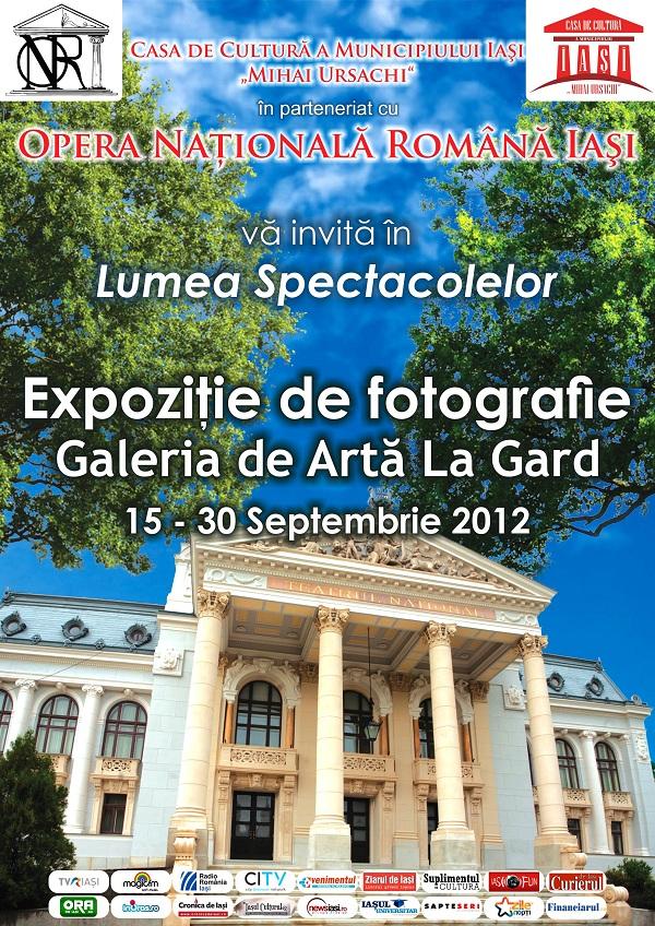 """Expoziție de fotografie la Galeria """"La Gard"""" din Parcul Copou/ 15 - 30 septembrie 2012"""