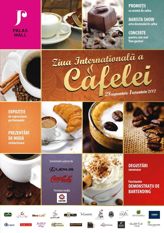 Ziua Internationala a Cafelei la Palas Mall, 28 septembrie – 1 octombrie