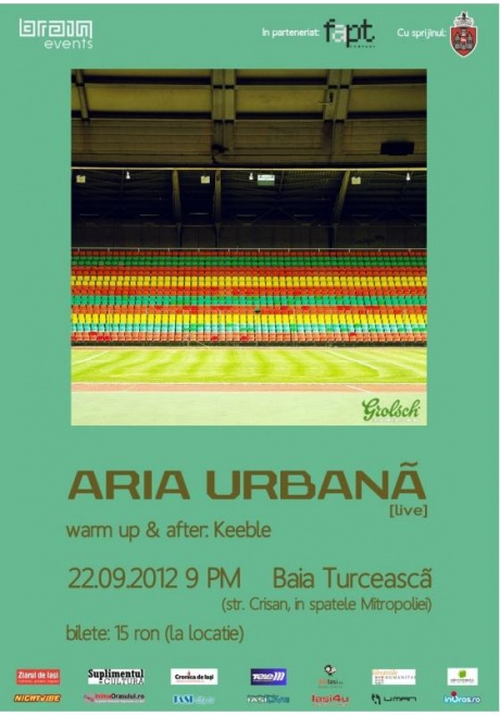Aria Urbana la Baia Turceasca/ 22 septembrie