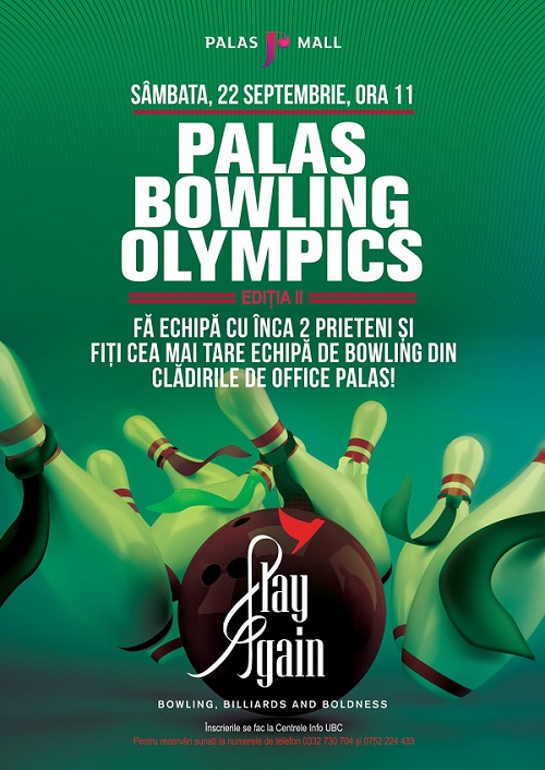 palas bowling olympics 22 septembrie