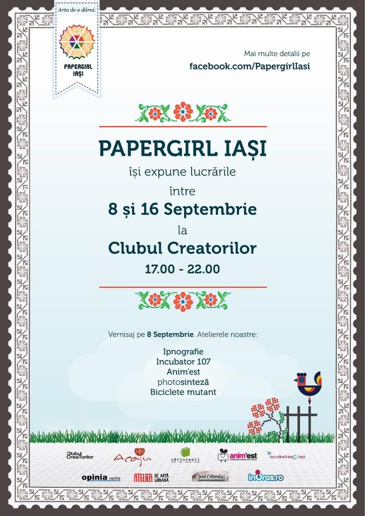 papergirl iasi expozitie