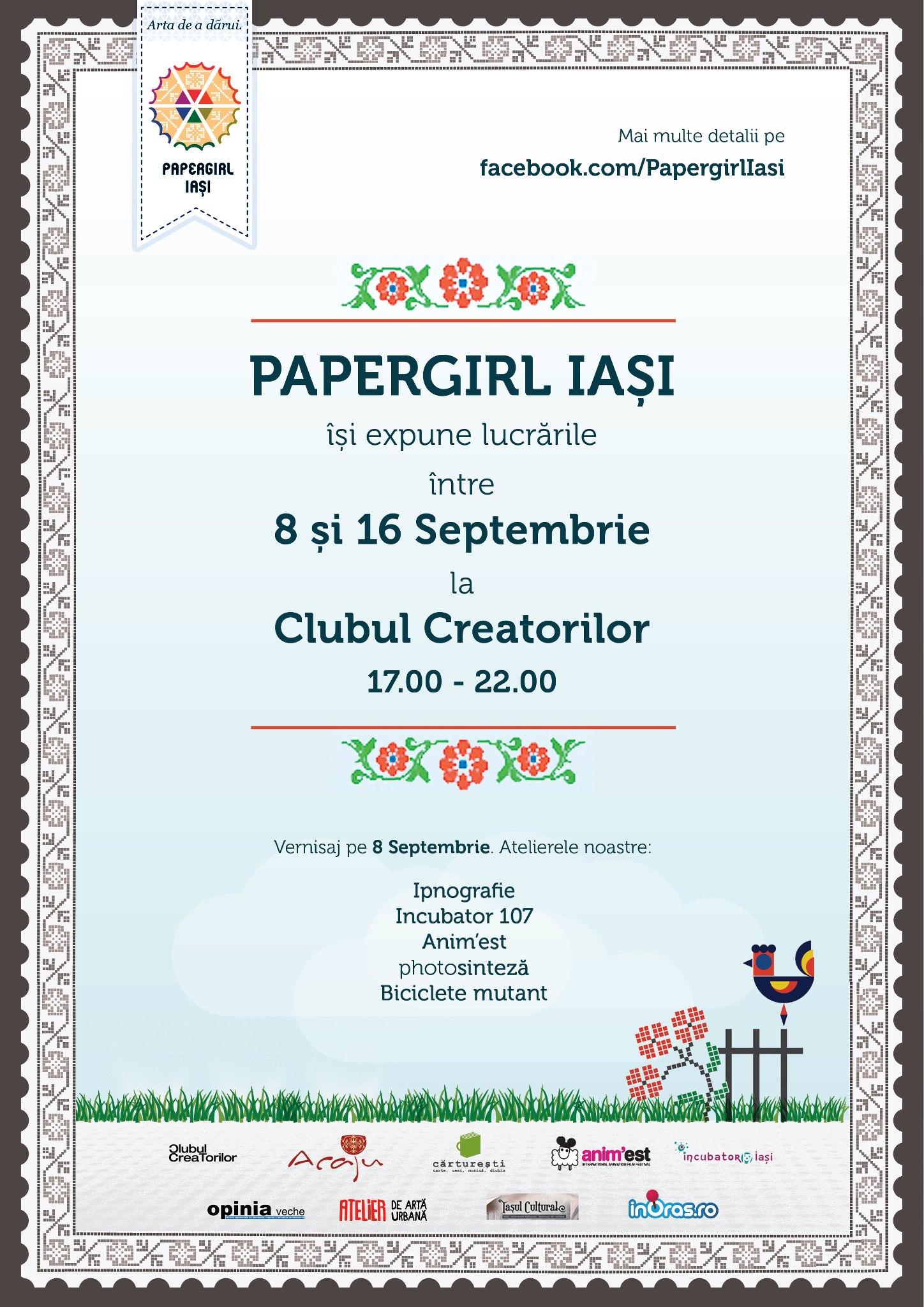Expoziția Papergirl Iasi #3