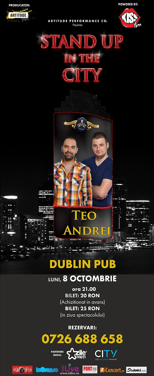 Stand up in the City: Teo si Andrei/ 8 octombrie 2012