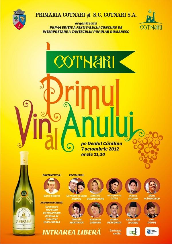 """Festivalul """"Cotnari - primul vin al anului""""/ 7 octombrie 2012"""
