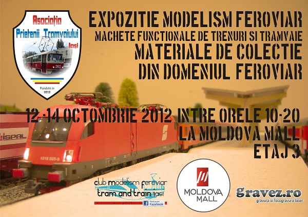 Tram and Train Model Fest 2012/ 12 - 14 octombrie 2012