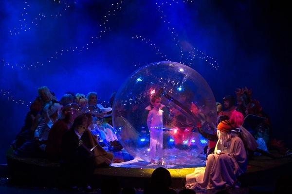 3 poveşti cu zmei (premieră), Teatrul Luceafărul Iaşi
