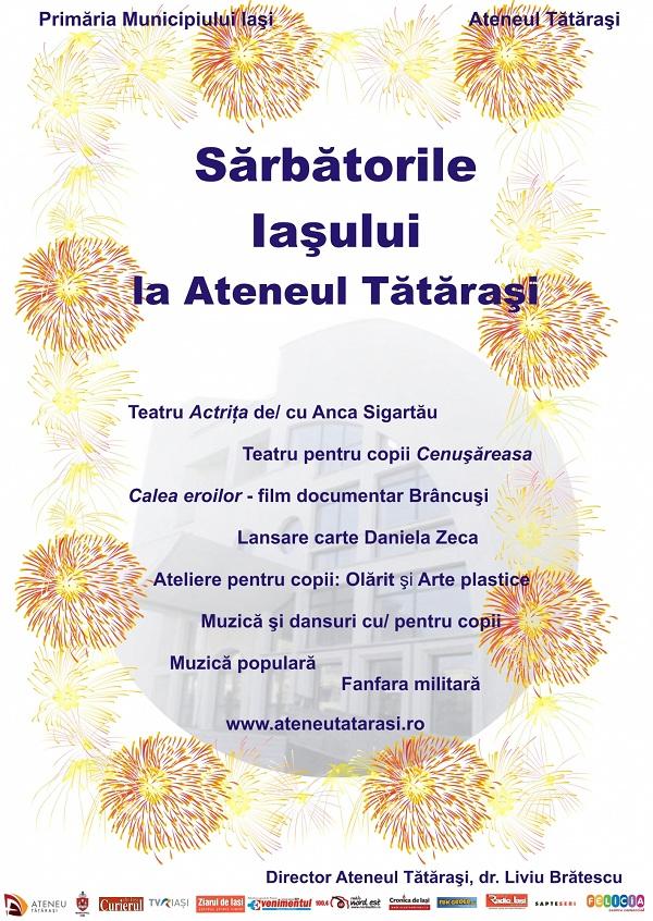 Sarbatorile Iasului la Ateneul Tatarasi