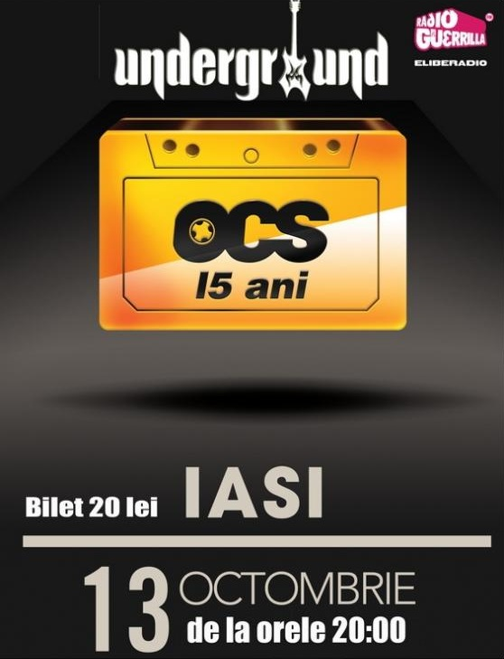 Concert OCS - 15 ani/ 13 octombrie 2012