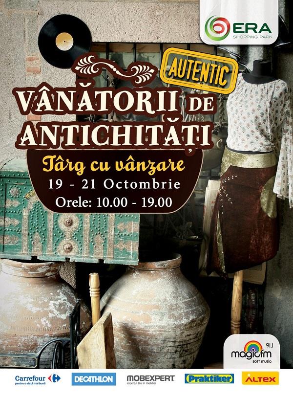 Vanatorii de antichitati la Era Park/ 19-21 octombrie 2012