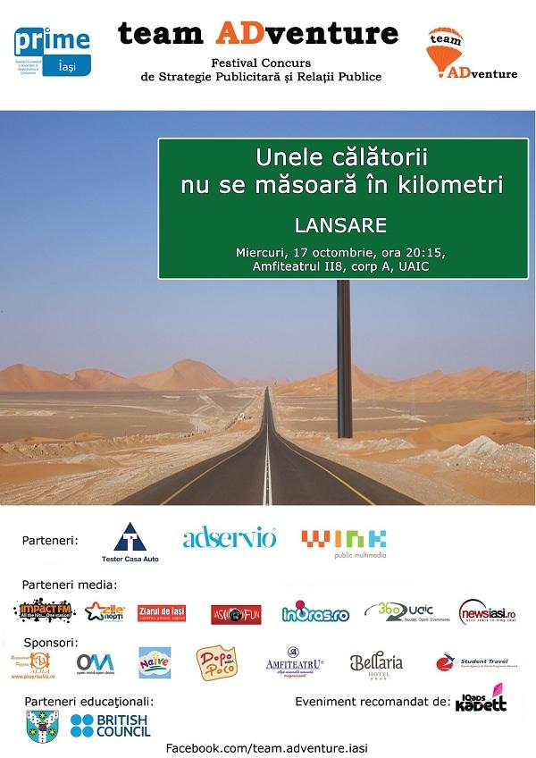 Concurs de Strategie Publicitara si Relatii Publice - team ADventure iasi 2012