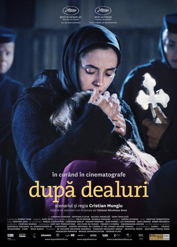 """""""Dupa Dealuri"""", lansat la Iasi la Cinematograful Victoria/ 26 octombrie afis"""