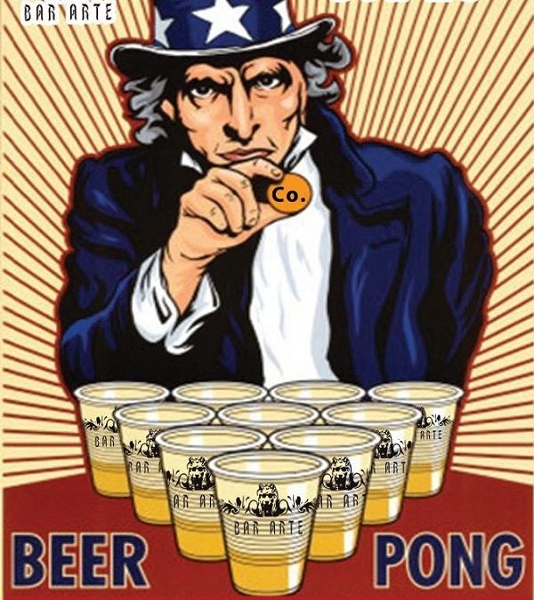 Jocurilor ALCOOLimpice in Arte Bar/ 18 octombrie