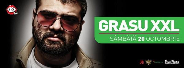 Concert Grasu XXL in Iasi/ 20 octombrie afis