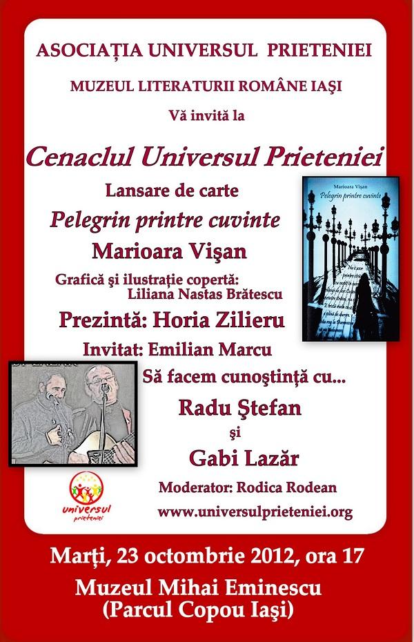 Pelegrin printre cuvinte Marioara Vişan