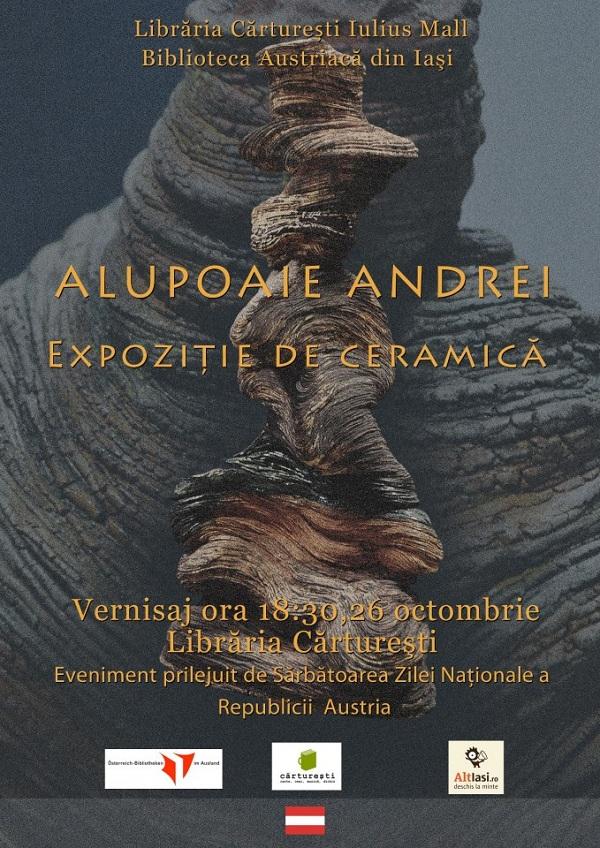 Expozitie de ceramica de Alupoaie Andrei/ 26 octombrie 2012