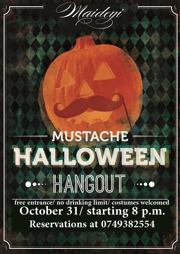 Halloween hangout la cafeneaua Maideyi/ 31 octombrie afis