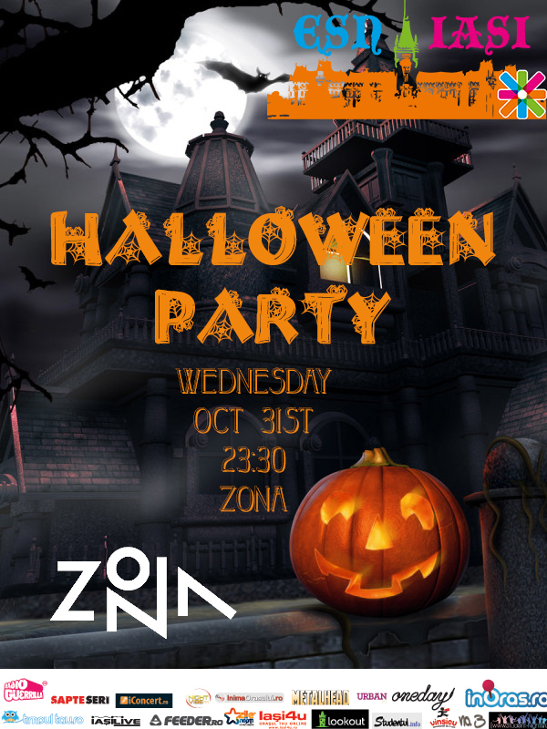 Halloween ESN in ZONA/ 31 octombrie 2012