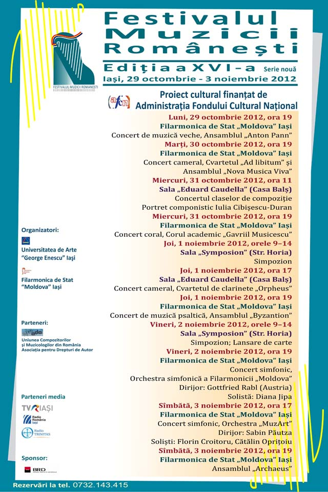 Afis general FMR 2012