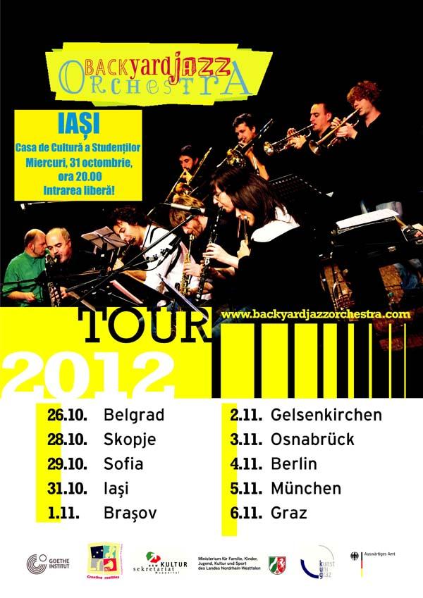 The Backyard Jazz Orchestra_iasi
