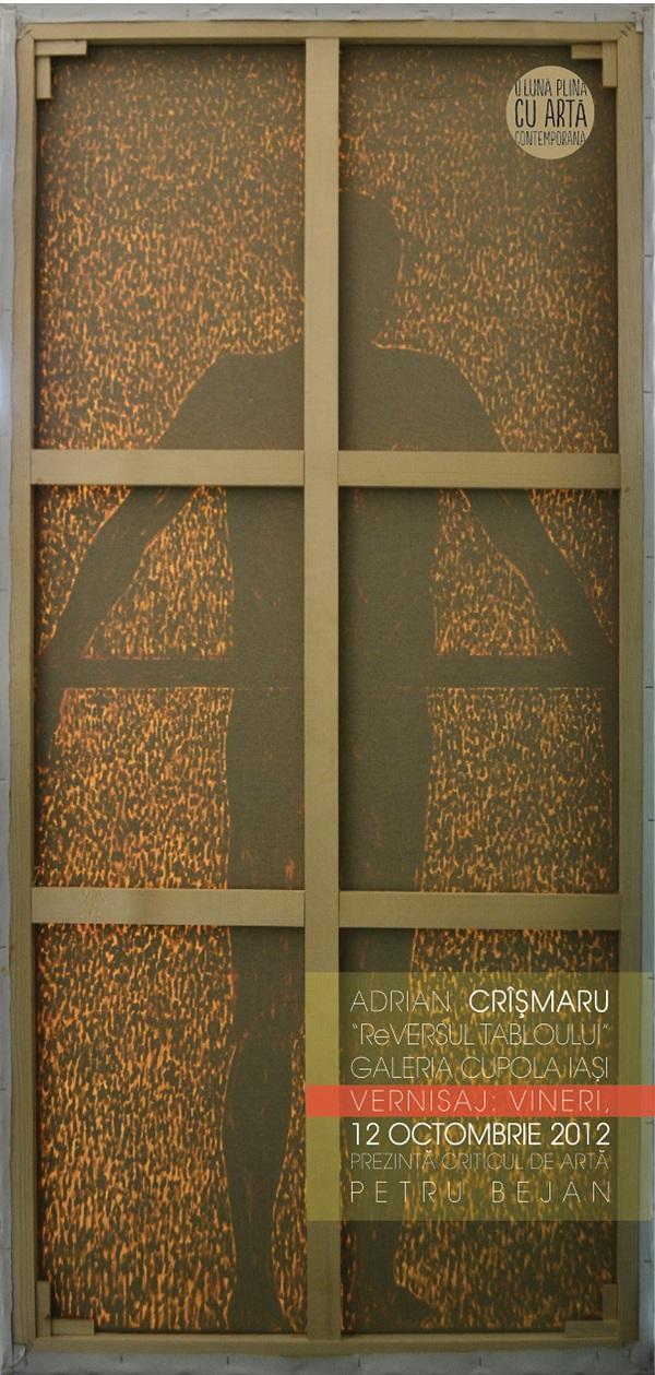afis Expozitia ReVersul Tabloului/ 10 - 18 octombrie 2012