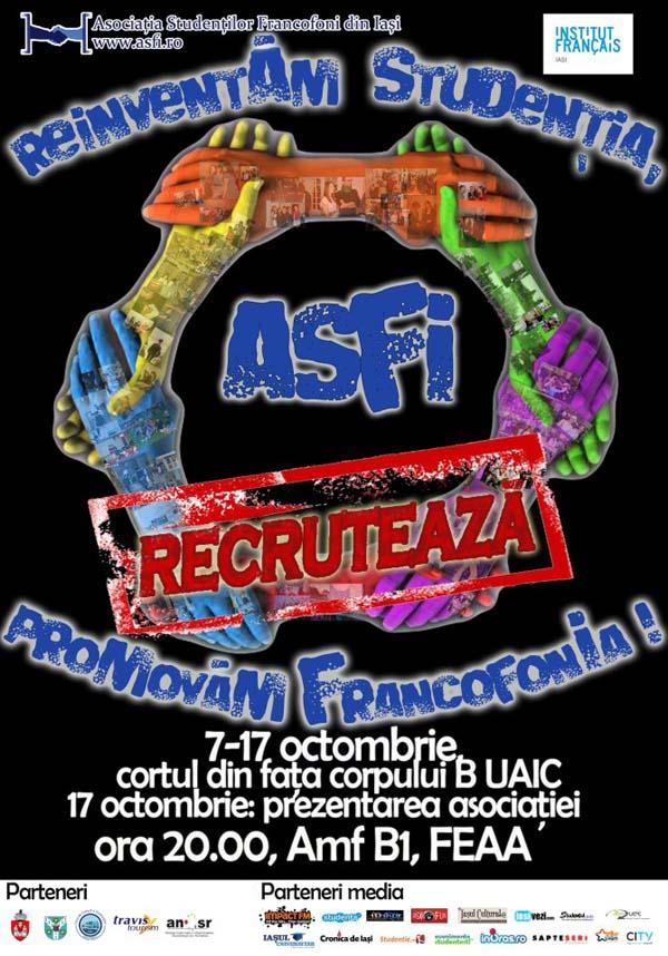 afis recrutare 2012