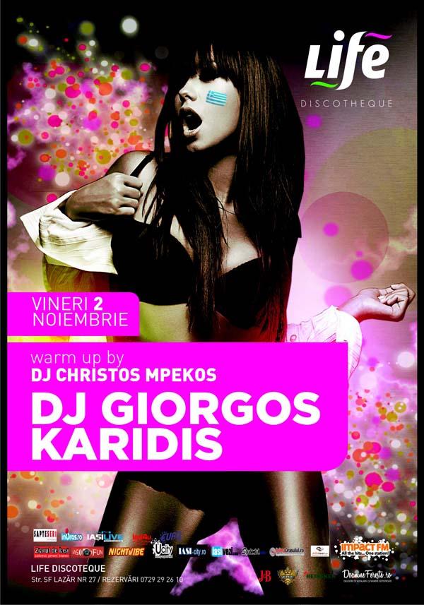 dj giorgos karidis life discotheque