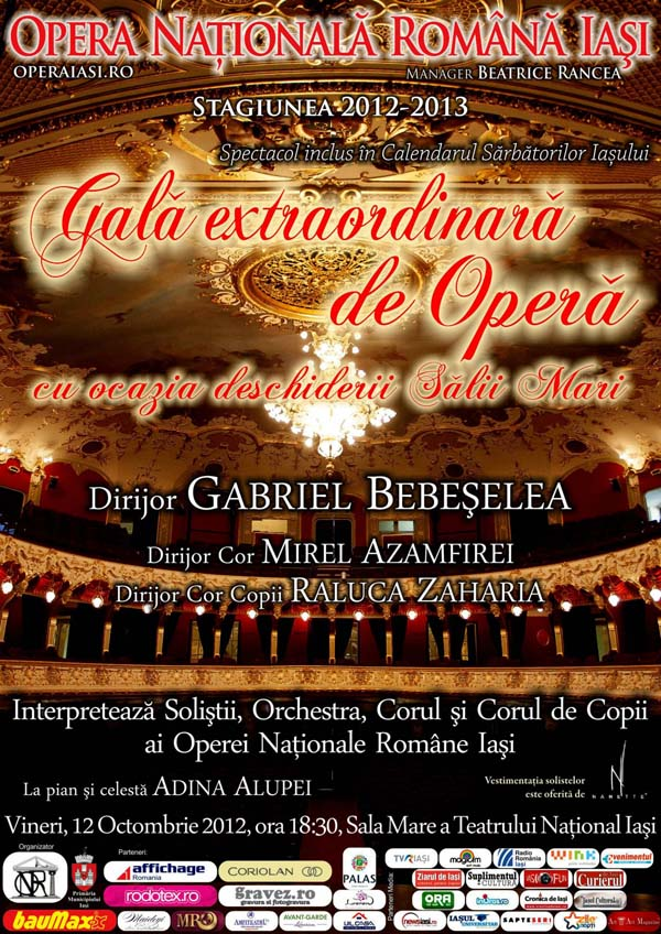 gala extraordinara de opera 2012