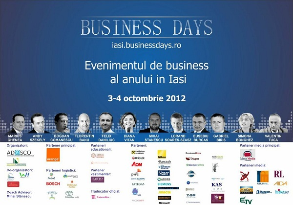 iasi business days afis