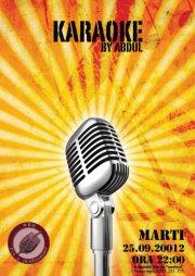 karaoke by abdul