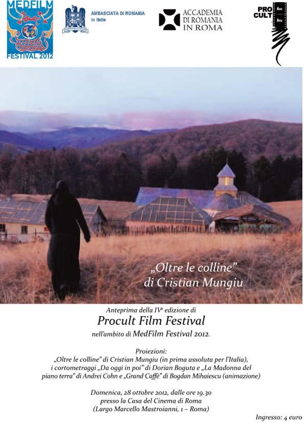 ''Dupa dealuri'' prezentat in Italia