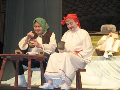 """Spectacolul """"Povestea Prostiei""""/ 28 octombrie 2012, Parc Palas"""