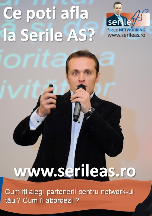 Serile AS la Iasi: Networking/ 9 noiembrie 2012 afis