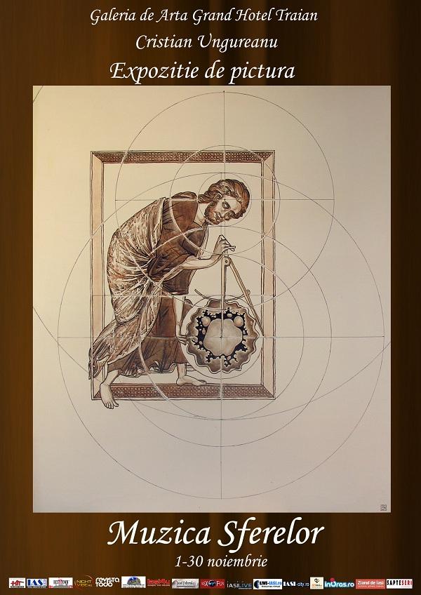 """121101 expozitie mic Expozitia """"Muzica sferelor"""" la Galeria de Arta Grand Hotel Traian, 1 noiembrie   30 noiembrie"""