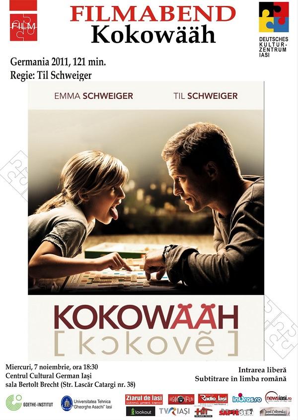 Seara de film german- Kokowääh/ 7 noiembrie afis
