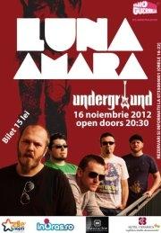 Concert Luna Amară în Underground/ 16 noiembrie iasi