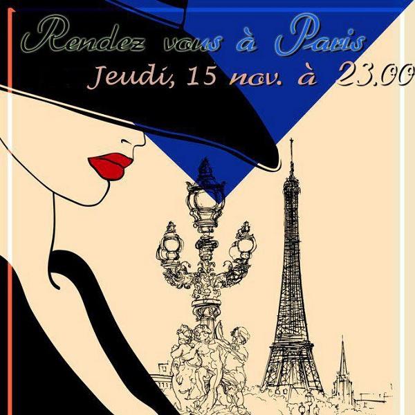 ESN Iasi - Rendez-vous à Paris!/15 noiembrie afis