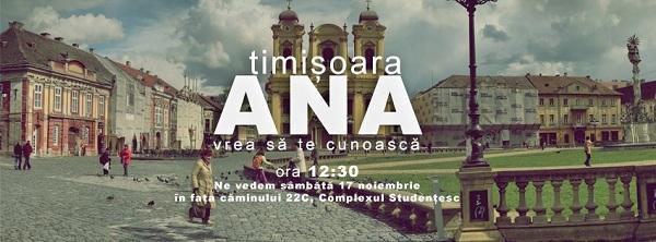 ANA mișcă România/ 17 noiembrie timisoara
