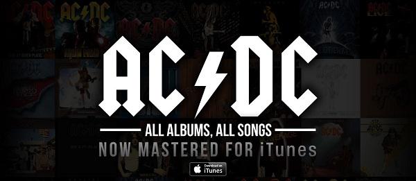 Discografia AC/DC este disponibil acum si pe iTunes