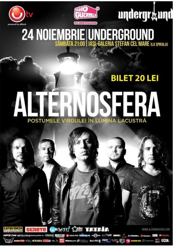 Alternosfera te cheama, Alternosfera lanseaza VIRGULA/ 24 noiembrie