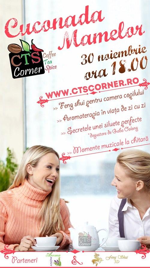 Cuconada Mamelor la CTS Corner/ 30 noiembrie afis