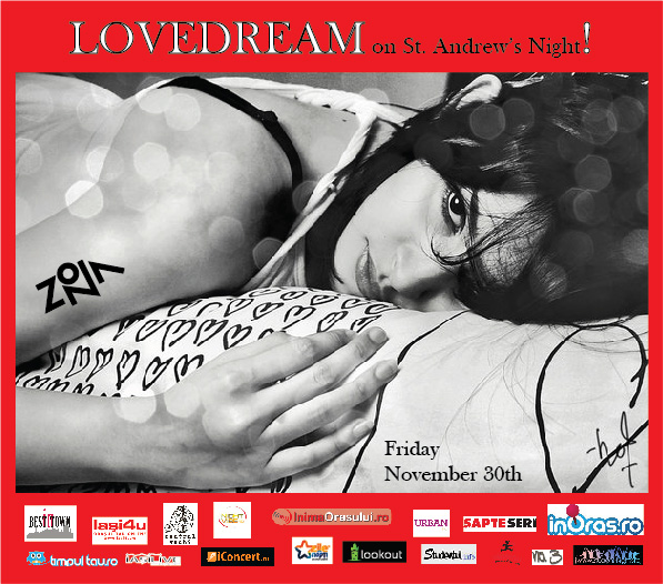 LOVEDREAM on St. Andrew's Night/ 30 noiembrie afis