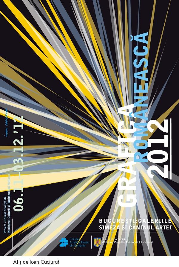 "Expozitia ""Grafica Romaneasca 2012""/ Bucuresti afis"