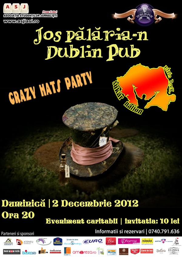 Crazy Hat - Balul Bobocilor 2012 - Facultatea de Litere