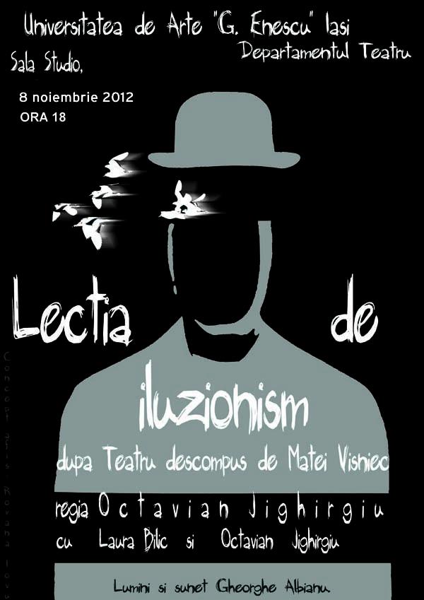 Lectia de Iluzionism08.11.2012