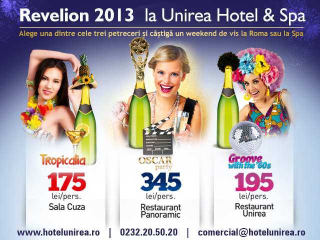 Revelion 2013 Unirea&SPA