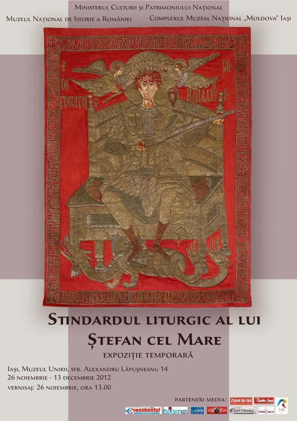 Expozitia ''Stindardul liturgic al lui stefan cel Mare''