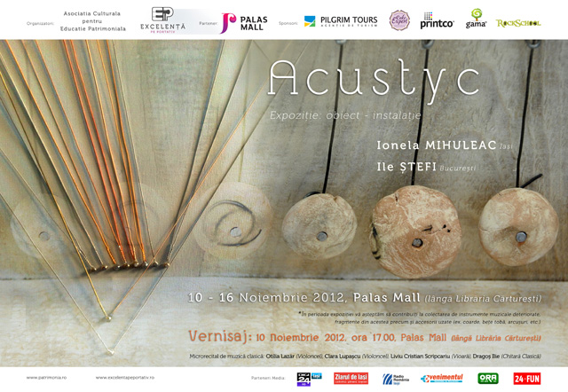afis expozitie Acustyc