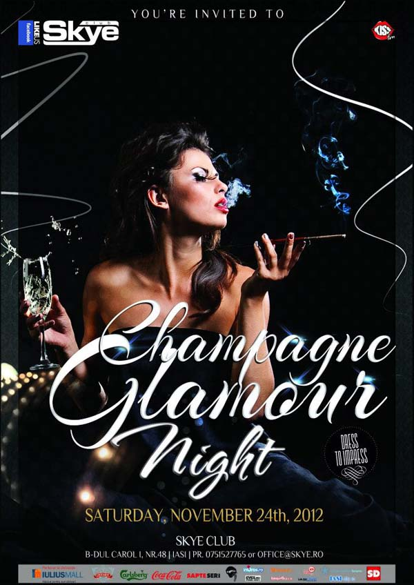 champagne glamour night_skye